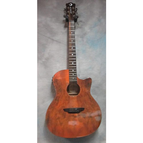 In Store Used Used Luna Gypsy Spalt Natural Acoustic Electric Guitar