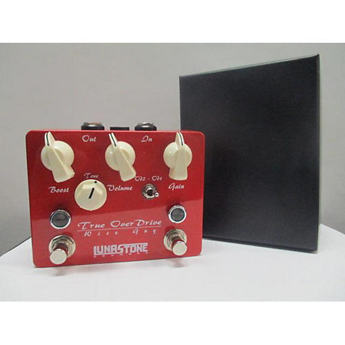 In Store Used Used LunaStone Wise Guy True Overdrive Effect Pedal