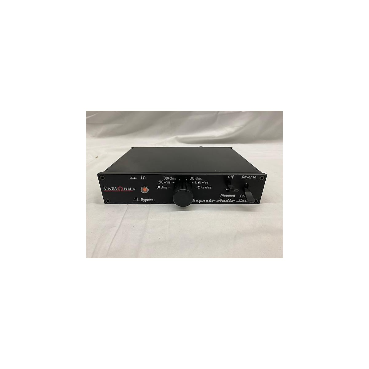 In Store Used Used MAGNETO AUDIO LABS VARIOHM IMPEDANCE CONTROL DEVICE Microphone Preamp
