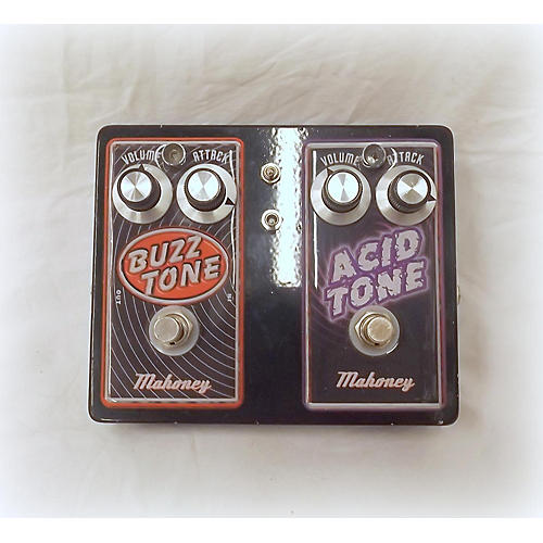 In Store Used Used MAHONEY BUZZ TONE ACID TONE DUAL Effect Pedal