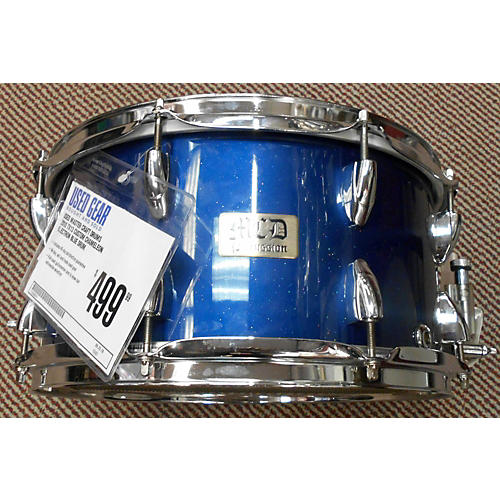 In Store Used Used MASTER CRAFT DRUMS 2010 7X13 CUSTOM CHAMELEON ELECTRON BLUE Drum