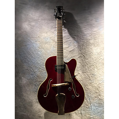 In Store Used Used MATT RAINES GUITARS ARCHTOP MASTER Burgundy Hollow Body Electric Guitar