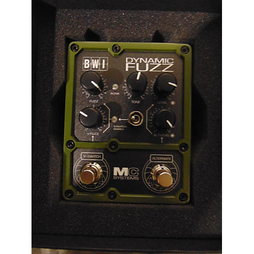 In Store Used Used MC SYSTEMS 2014 BWI DYNAMIC FUZZ Effect Pedal