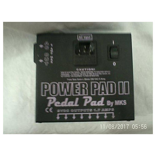 In Store Used Used MKS Power Pad II Pedal Pad Power Conditioner