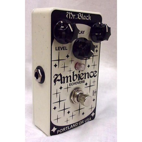 In Store Used Used MR BLACK AMBIENCE ECHOVERB Effect Pedal