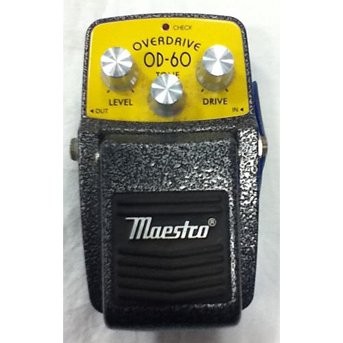 In Store Used Used Maesto OD-60 Effect Pedal