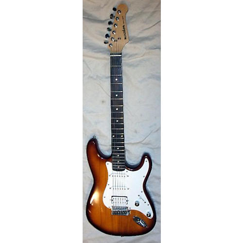 In Store Used Used Marathon Double Cutaway HSS Sunburst Solid Body Electric Guitar