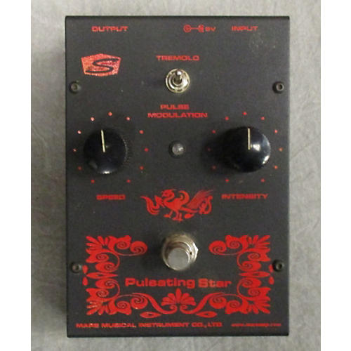 In Store Used Used Mars Amp Pulsating Star Effect Pedal