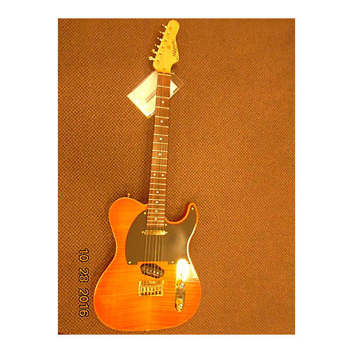 In Store Used Used Melancon Pro Artist T Trans Orange Solid Body Electric Guitar