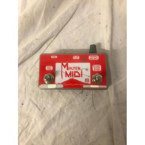 In Store Used Used Molten Midi MIDI Foot Controller