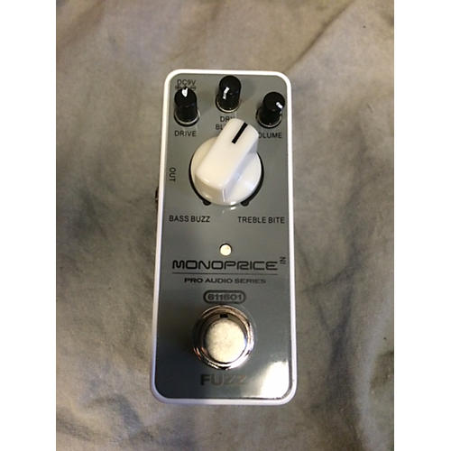 In Store Used Used Monoprice 611601 Fuzz Effect Pedal