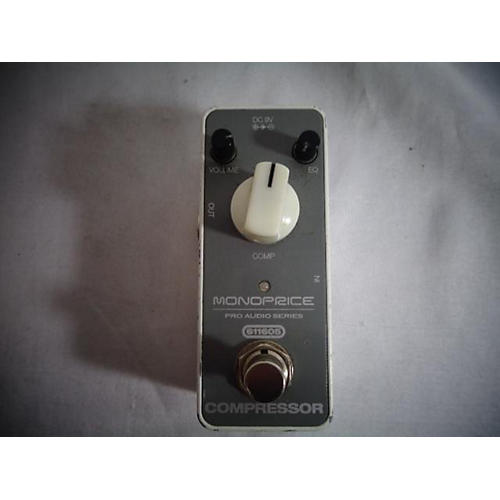 In Store Used Used Monoprice Compressor Effect Pedal