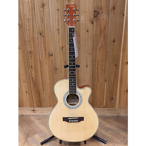 In Store Used Used Morison Mg100c Natural Acoustic Guitar