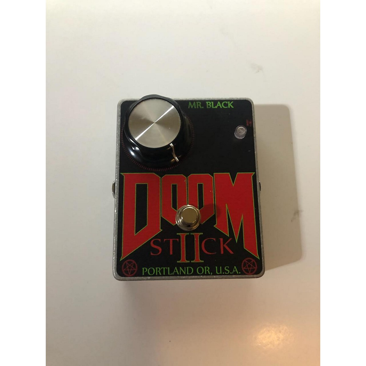 In Store Used Used Mr.Black DOOM STICK Effect Pedal