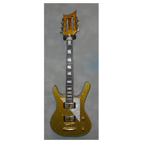 In Store Used Used Musicvox MI-5 12-String Gold Flake Solid Body Electric Guitar