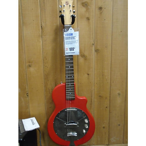 In Store Used Used NATIONAL RESOPHONIC REISSUE RES-O Flat Red Acoustic Electric Guitar