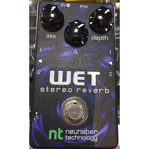 In Store Used Used NEUNABER WET STEREO REVERB Effect Pedal
