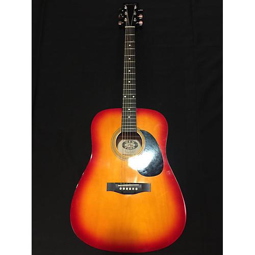 used new york pro ny 2 color sunburst acoustic guitar guitar center. Black Bedroom Furniture Sets. Home Design Ideas