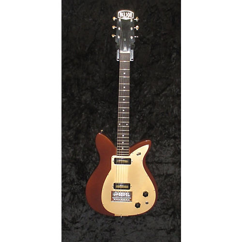 In Store Used Used Nelson Cocquette Root Beer Solid Body Electric Guitar