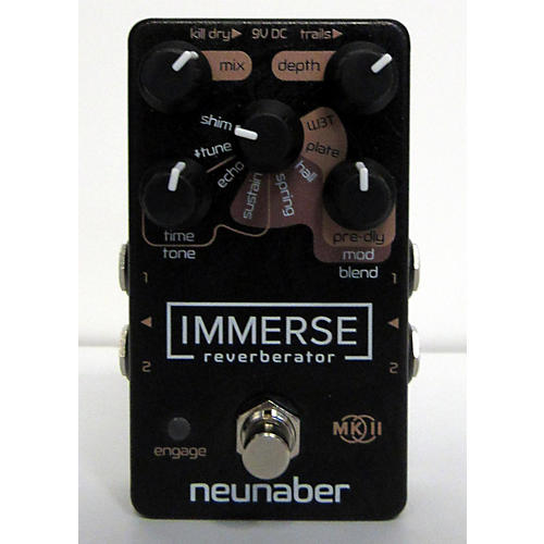 used neunaber immerse reverberator mkii effect pedal guitar center. Black Bedroom Furniture Sets. Home Design Ideas