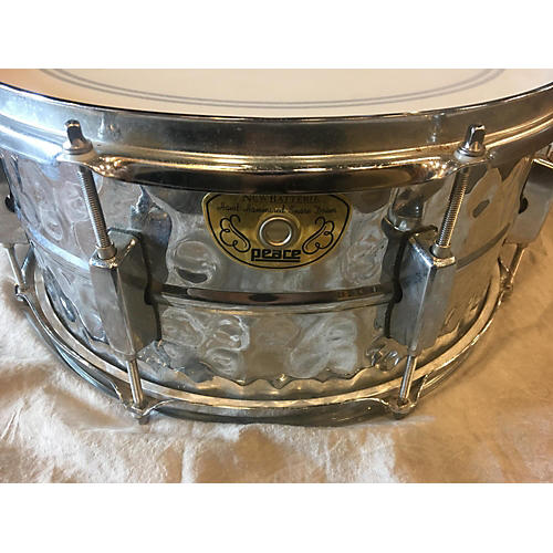 In Store Used Used New Batterie 6.5X14 Peace Drum Chrome Silver
