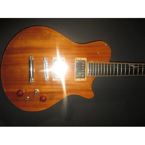 In Store Used Used New Orleans Guitar Company Voodoo Custom Natural Solid Body Electric Guitar
