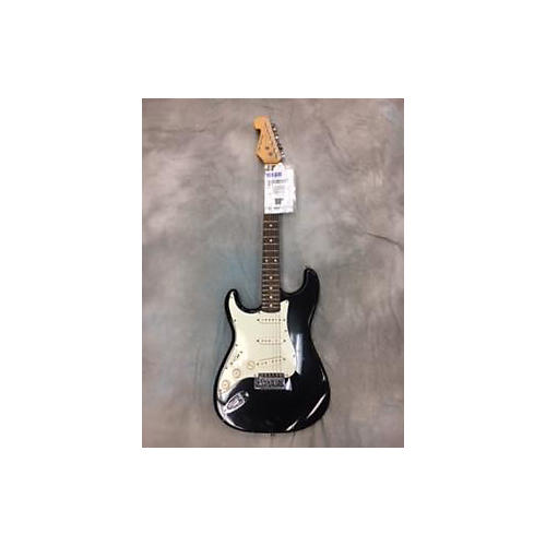 In Store Used Used New York Pro Double Cutaway Black Electric Guitar