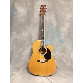 used new york pro ny977c natural acoustic electric guitar guitar center. Black Bedroom Furniture Sets. Home Design Ideas