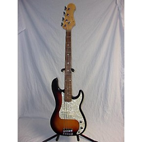 used new york pro p style 3 tone sunburst electric bass guitar guitar center. Black Bedroom Furniture Sets. Home Design Ideas