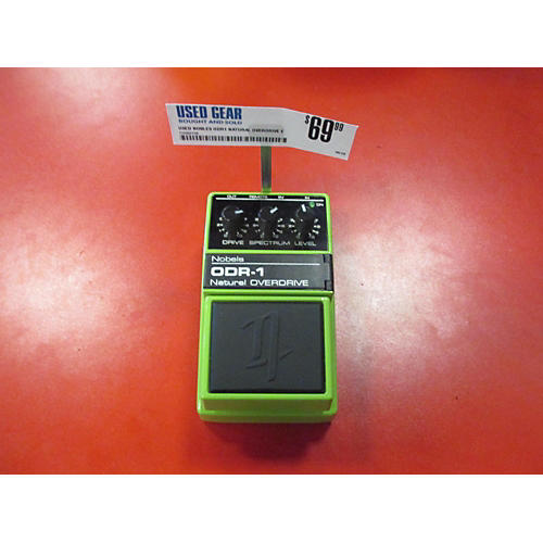 In Store Used Used Nobles ODR1 Natural Overdrive Effect Pedal