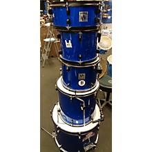Used Novah 5 piece Beginner Kit Blue Drum Kit