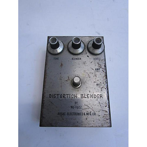 In Store Used Used Nu Fuzz Distortion Blender Effect Pedal