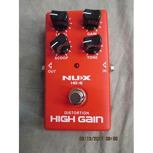 In Store Used Used Nuxefx Hg-6 Effect Pedal