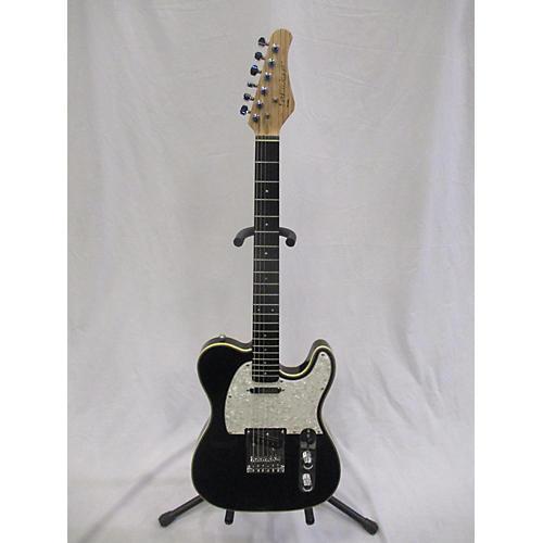 used optek fretlight t style black solid body electric guitar guitar center. Black Bedroom Furniture Sets. Home Design Ideas
