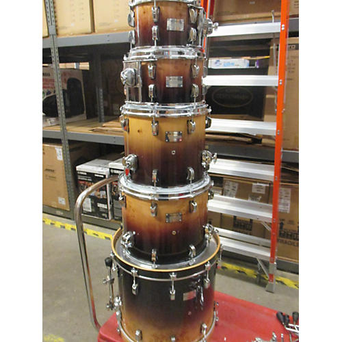 In Store Used Used Odery 5 piece Eyedentity Brown Drum Kit