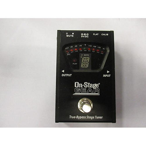 In Store Used Used On Stage Pedal Tuner Tuner Pedal