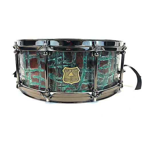 In Store Used Used Outlaw 5X14 Tornado Drum Patina
