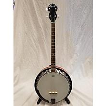 Used Ozark 4 String Mahogany Banjo