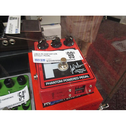 In Store Used Used P3 Distortion Effect Pedal