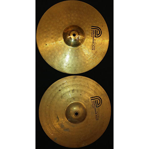 In Store Used Used PERCUSSION PLUS 14in 14IN HIHAT PAIR Cymbal