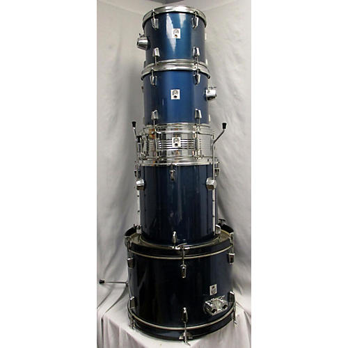 In Store Used Used PERCUSSION PLUS 5 piece STUDENT MODEL Blue Drum Kit