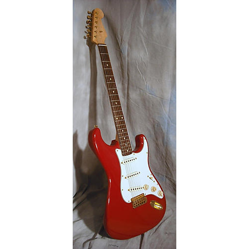 In Store Used Used PETER FLORANCE Double Cut Dakota Red Solid Body Electric Guitar