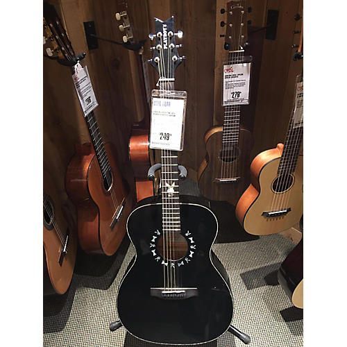 In Store Used Used PLAYBOY PBE-AC1 Black Acoustic Guitar