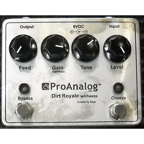 In Store Used Used PRO ANALOG DIRT ROYALE W/CHEESE Effect Pedal