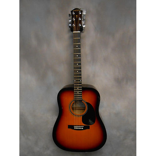 In Store Used Used Palmer Guitar Co. 2000s PD20VS Vintage Sunburst Acoustic Guitar