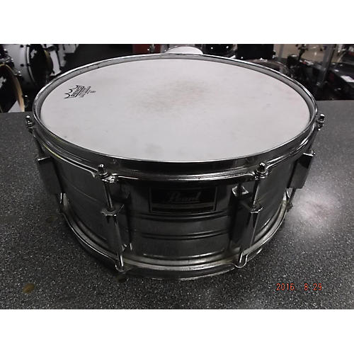 In Store Used Used Peal 2000s 5.5X14 Export Metallic Silver Drum