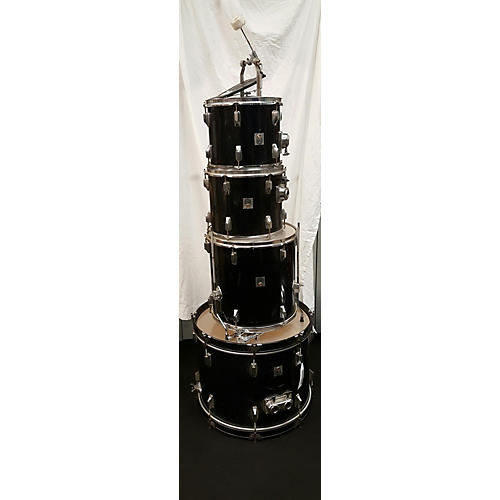 In Store Used Used Percussion Plus 4 piece Standard Black Drum Kit