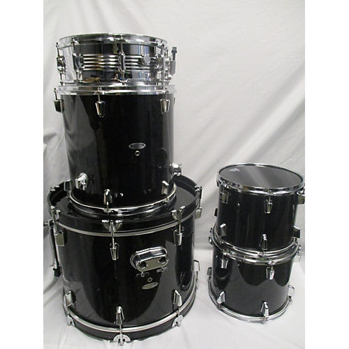 In Store Used Used Percussion Plus 5 piece 5 Piece Drum Kit Black Drum Kit