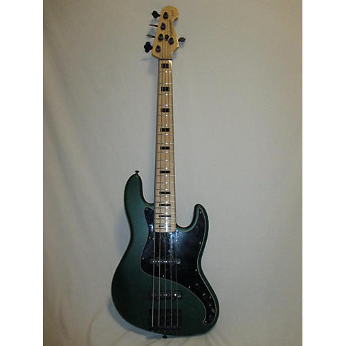 In Store Used Used Performance Bass YB5 Green Electric Bass Guitar
