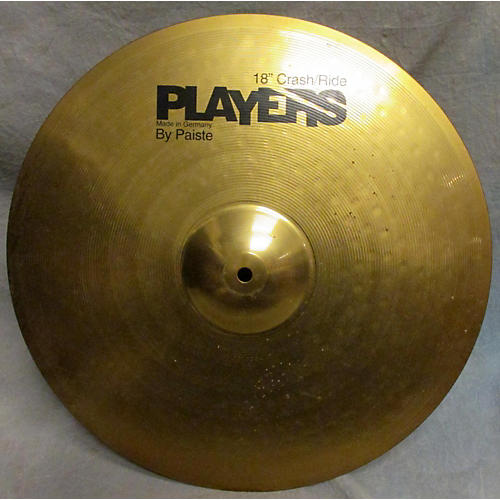 In Store Used Used Players By Paiste 18in Crash/Ride Cymbal